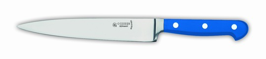 GIESSER 18cm Filleting Knife-Forged Blue Handle