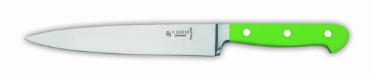 GIESSER 18cm Cook's Knife Green Handle