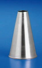 Piping Tip Stainless Steel Round Hole Piping Tip