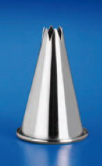 Piping Tip Stainless Steel Star